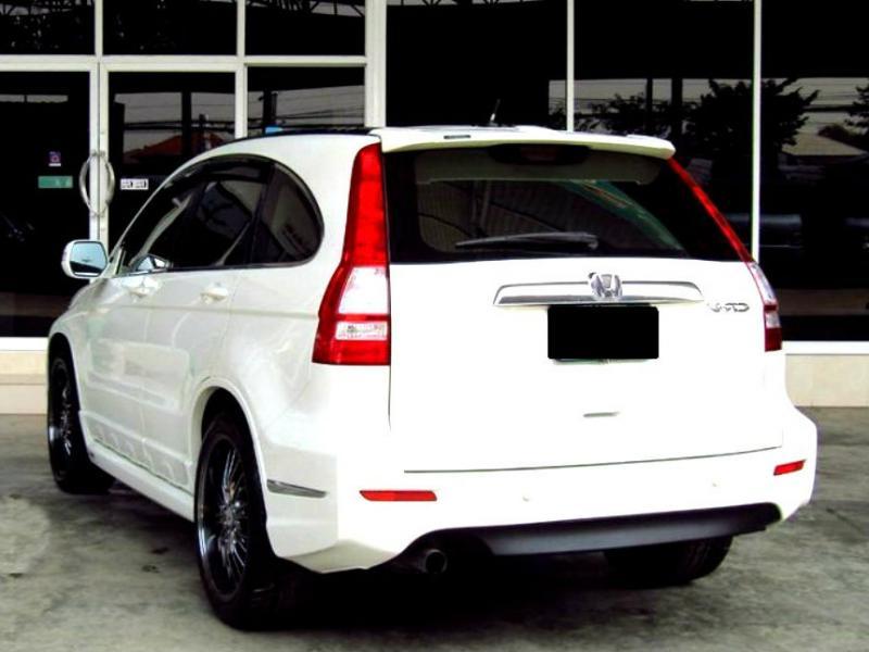 CR V Honda CRV 20 Automatic Thn 2010 Warna Putih Keren