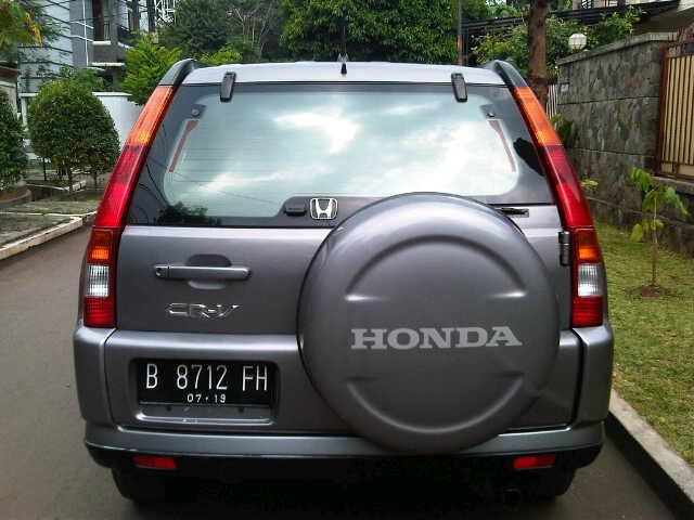 CR-V: Honda New CRV 2.0 Manual th.2004 - MobilBekas.com