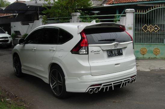 CR V Dijual Honda CRV 2013Putih Modification