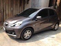 Jual Brio Satya: ~~~ Honda Brio 1.2 Satya E M/T Th.2015 Warna Abu-Abu Metalik ~~~
