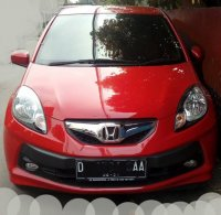 Jual Honda: Brio Satya Merah 2016