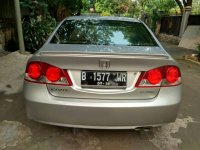 jual honda civic 2008 manual silver