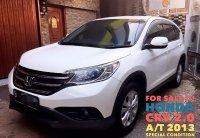 Jual 2013 Honda CR-V 2.0 2 SUV A/T Special Condition HARGA PROMO