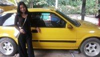 Jual Honda Civic kuning 2 pintu