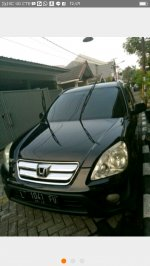 Jual Honda CR-V: Crv 2.0 thn 2005 manual hitam original & audio