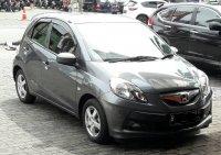 Jual 2014 Honda Brio E Abu-abu Low Km
