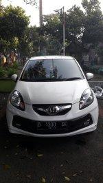Jual Honda Brio Satya 2014 Putih KM Rendah