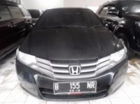 jual honda city 2012 matic hitam