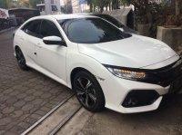 Jual Honda civic turbo hatcback 1.5 cc tipe s cvt tahun 2017 putih bandung