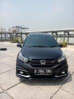 Jual Honda mobilio 1.5 rs matic 2017 hitam