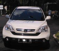 Jual CR-V: HONDA CRV 2009,  2400cc AT, Putih Metalik Mutiara