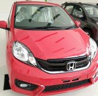 Jual Honda Brio E Matic mulus warna Merah