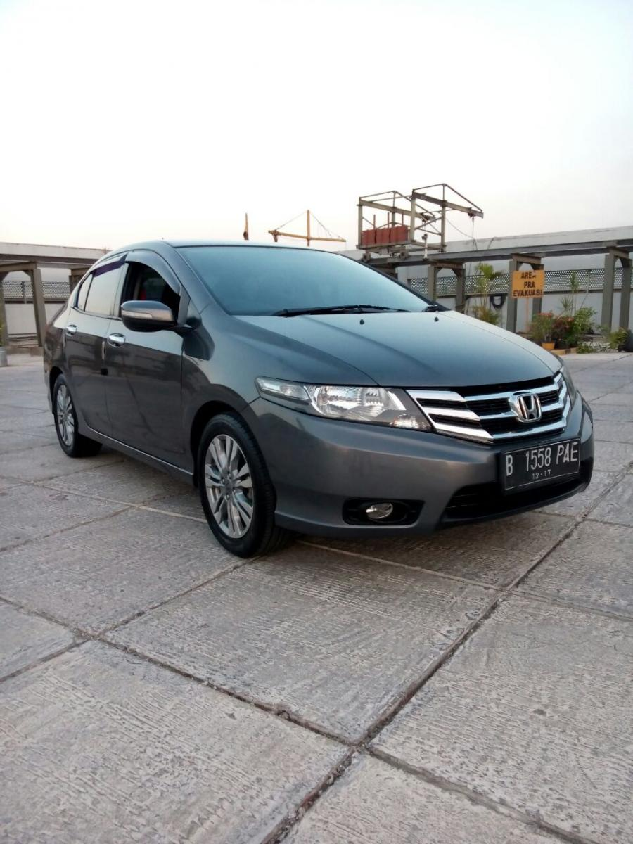 Honda all new city 1.5 rs matic 2013/2012 grey ...