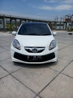 Jual Honda Brio 1.3 bilt up matic 2013 putih km 15 rban 08161129584
