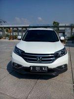 Jual CR-V: Honda crv 2.4 prestige matic 2014 putih km 50 rban