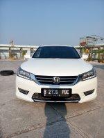 Jual Honda accord 2.4 putih matic 2013 km 40 rban 08161129584