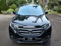 Jual CR-V: Honda CRV 2.4 AT 2013 Hitam TDP15 Siapa Cepat Aja