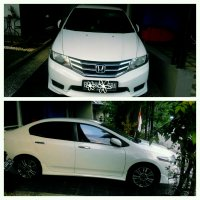 Jual Honda All New City 2012 type E Manual T