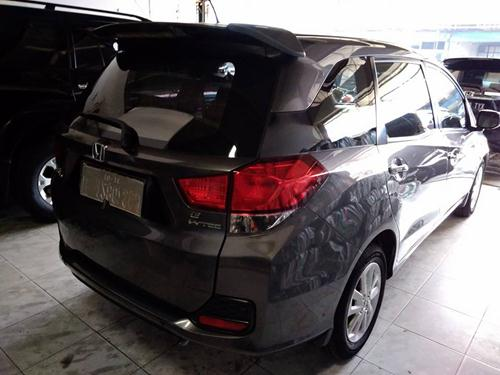 Honda Mobilio E (2014) manual warna abu abu metalik ...