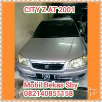 City Type Z: HONDA CITY Z 2001 #mobilbekassurabaya