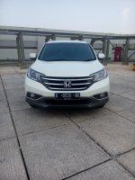 Jual CR-V: Honda crv 2.4 prestige matic 2013 putih km 30 rban 08161129584