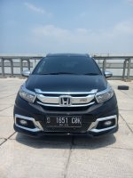 Jual Honda all new mobilio 1.5 rs matic 2017 hitam km 6 rban 08161129584