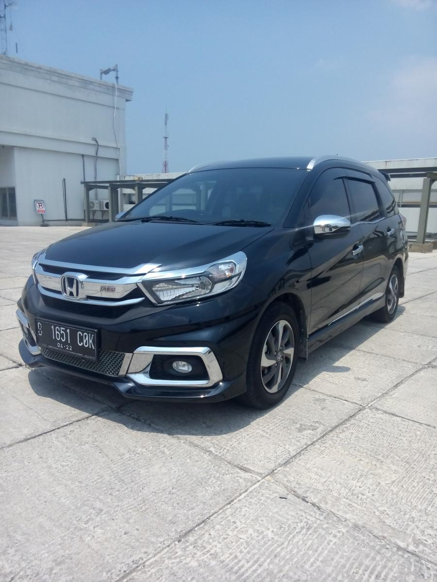 Honda all new mobilio 1.5 rs matic 2017 hitam 08161129584 ...