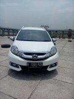 Jual Honda mobilio 1.5 E matic 2014 putih km 20 rban 087876687332