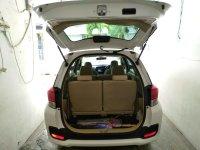 Jual Honda: Mobilio E 2016 Matic Putih Dashboard Model Baru Istimewa DP21,8JT