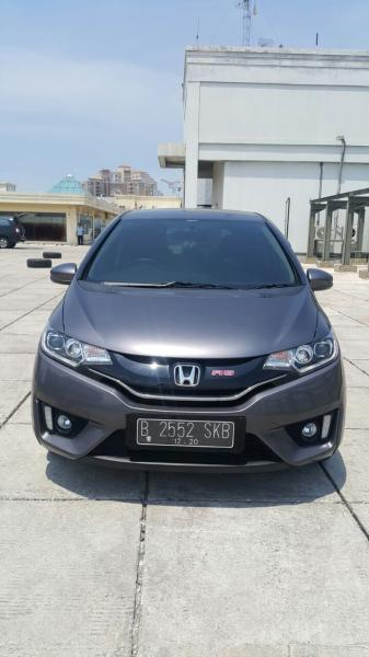 Honda all new jazz 1.5 rs matic grey 2015 km 20 rban ...