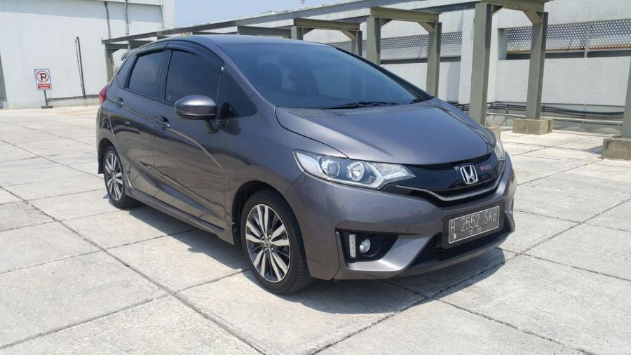 Honda all new jazz 1.5 rs matic grey 2015 km 20 rban ...