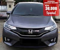 Jual HONDA JAZZ RS AUTOMATIC 2015 SPECIAL CONDITION, KM 39 RB.