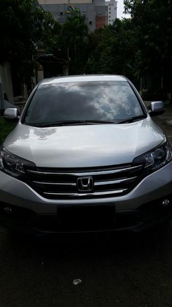 Jual Honda CR V 24 Silver Met 2012 Full Orisinil Kondisi