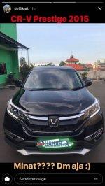 Honda CR-V: CRV prestige 2.4 tahun 2015 (IMG-20180325-WA0002.jpg)