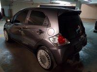 Jual Honda Brio 2015 MT Abu Metalik