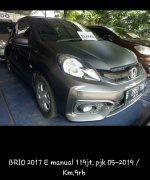 Jual Honda Brio Satya: Mobil Bekas Berkualitas