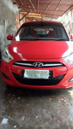 Jual Hyundai i10 manual th 2011,warna merah, tgn 1