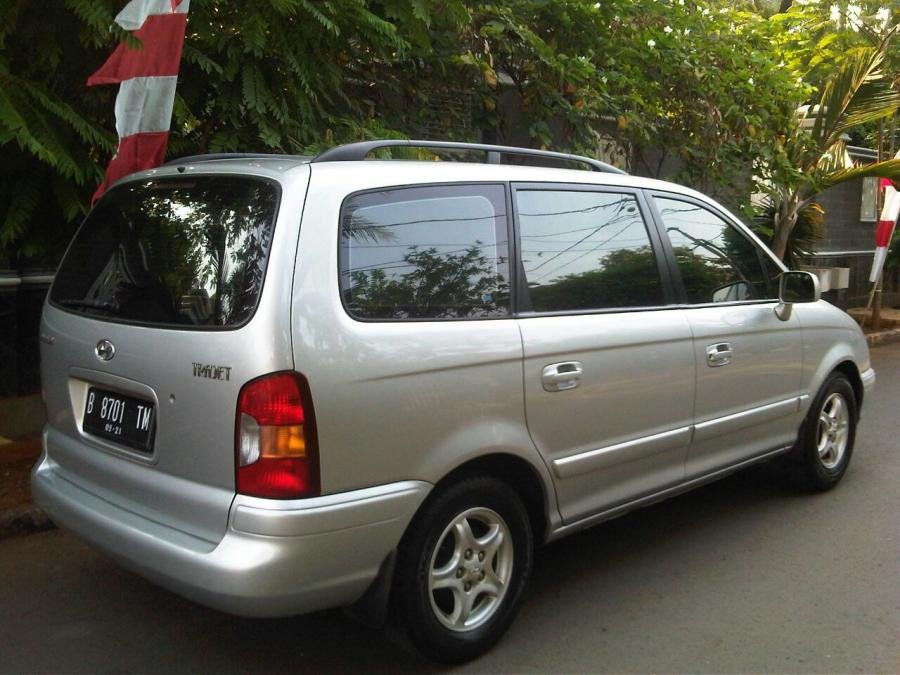 Hyundai Trajet Gls Manual Th.2001 (7 Seat) - MobilBekas.com
