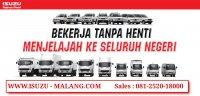Isuzu Elf: Jual truk bak kayu, dumptruk, truk box, truk tangki, di Malang