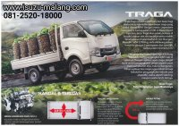 Jual New Isuzu Pick-up TRAGA model baru area Malang Pasuruan Probolinggo