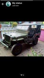 Jual Mobil Jeep Willys antik