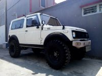 Jual Jeep: Katana Long ex BRI 4x4 full modifikasi plat H