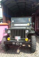 Jual Mobil antik Jeep Willys