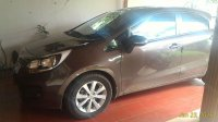 Dijual All New Kia Rio Coklat 2013