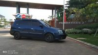 Jual Kia Carens 2 Th 2003 A/T Biru Metalik Moonroof Siap Nongrong