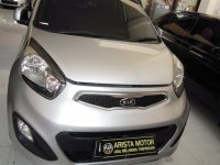 Jual KIA: ALL NEW Picanto MT'12 Silver KM 27rbAsli Tg1 Trima PjkBaru Mobil Bagu