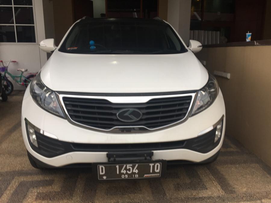 Jual KIA Sportage EX (sunroof) Warna Putih Mulus 2013 ...