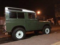 Jual Defender: Land rover SWB seri III th 79 ori