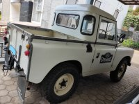 Jual Land Rover series 2 SWB 88 thn 1961