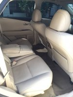 RX Series: Lexus Rx270 2012 putih mulus bagus (lexus interior belakang.jpg)